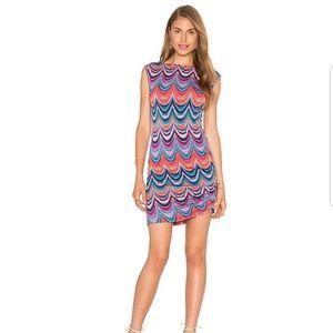 Trina Turk Dream Prism Stripe Matte Jersey Dress M